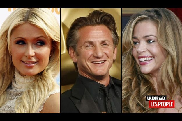 Paris Hilton, Sean Penn et Denise Richards