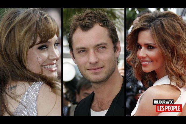 Angelina Jolie, Jude Law et Cheryl Cole