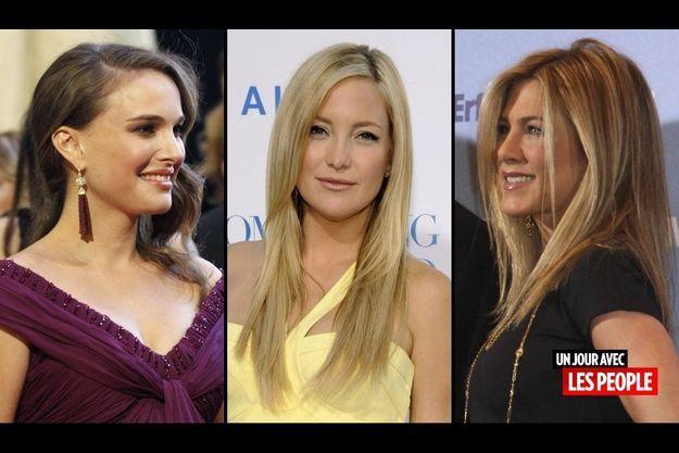 Natalie Portman, Kate Hudson et Jennifer Aniston