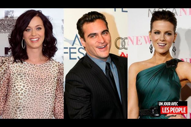 Katy Perry, Joaquin Phoenix et Kate Beckinsale