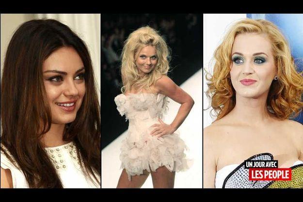 Mila Kunis, Geri Halliwelle et Katy Perry