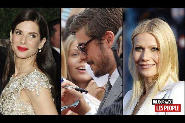 Sandra Bullock, Zac Efron et Gwneth Paltrow.