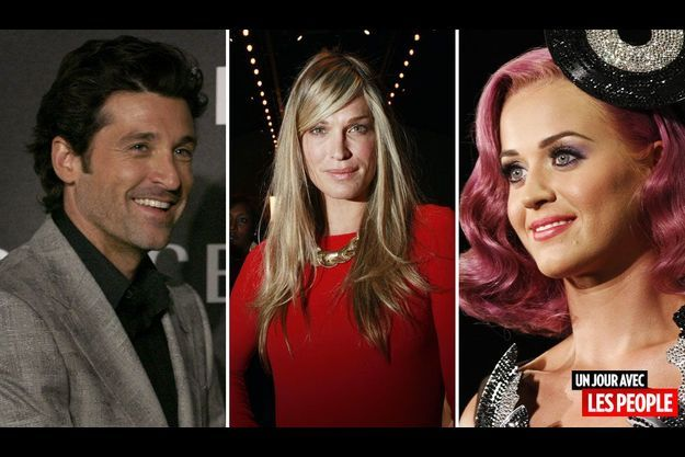 Patrick Dempsey, Molly Sims et Katy Perry.