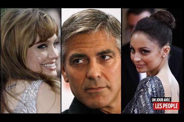 Angelina Jolie, George Clooney, Nicole Richie