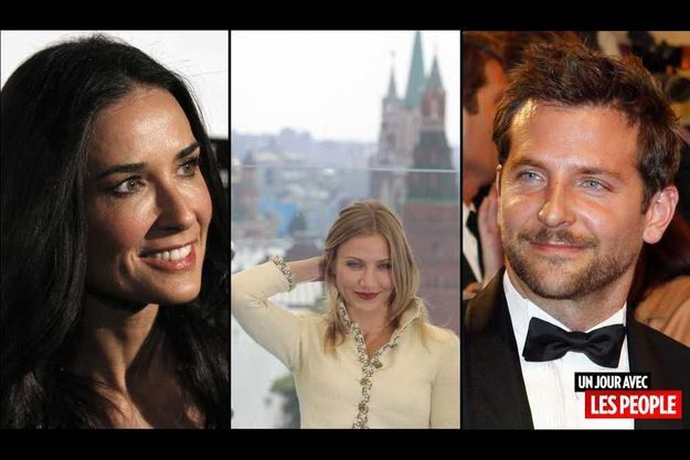 Demi Moore, Cameron Diaz et Bradley Cooper