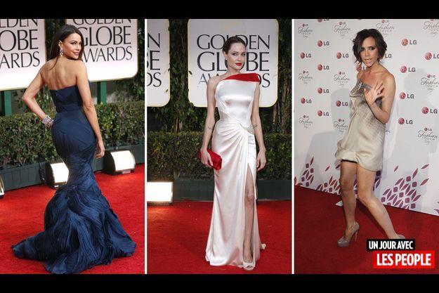 Sofia Vergara, Angelina Jolie et Victoria Beckham.