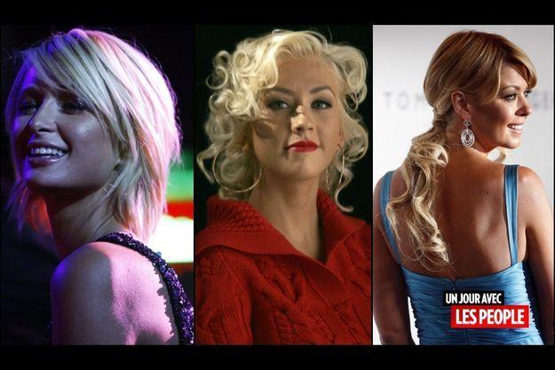 Paris Hilton, Christina Aguilera et Tara Reid