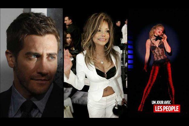 Jake Gyllenhaal, La Toya Janckson et Arielle Dombasle
