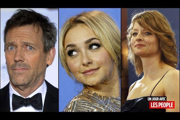 Hugh Laurie, Hayden Panettière, Jodie Foster