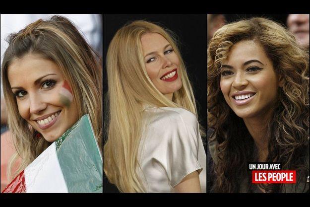 Alexandra Rosenfeld, Claudia Schiffer et Beyonce