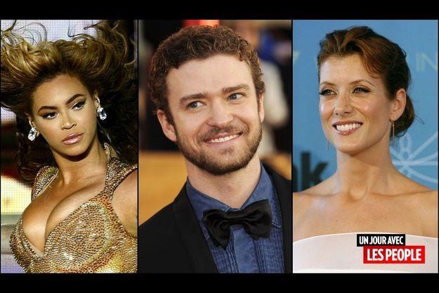 Beyoncé, Justin Timberlake, Kate Walsh