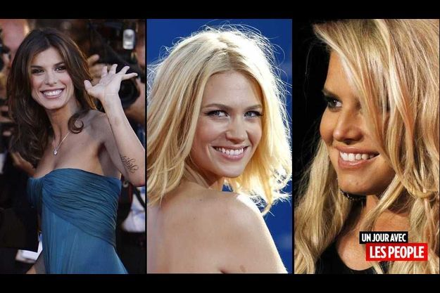 Elisabetta Canalis, January Jones et Jessica Simpson.