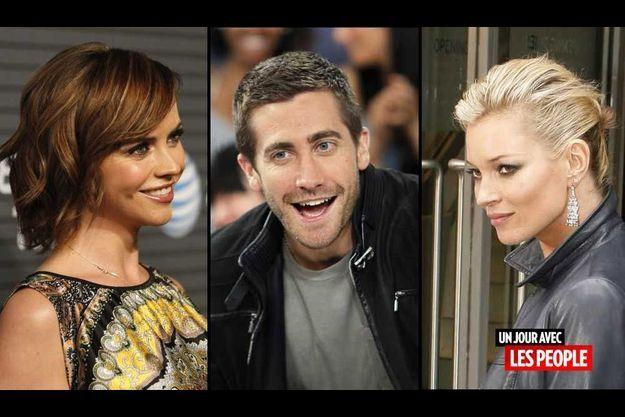 Christina Ricci, Jake Gyllenhaal et Kate Moss.