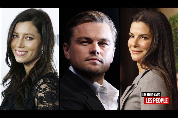 Jessica Biel, Leonardo DiCaprio et Sandra Bullock