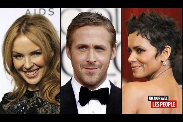 Kylie Minogue, Ryan Gosling et Halle Berry