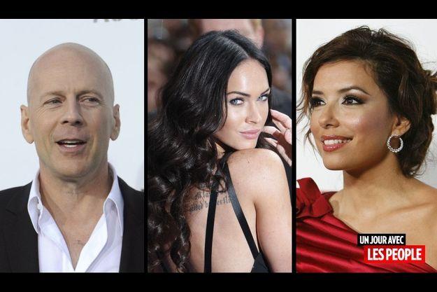 Bruce Willis, Megan Fox et Eva Longoria