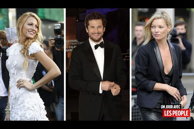 Blake Lively, Guillaume Canet et Kate Moss.