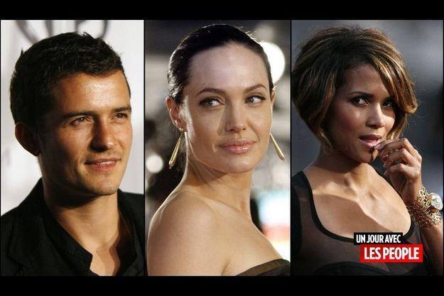 Orlando Bloom, Angelina Jolie, Halle Berry