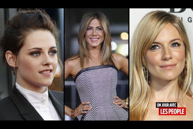 Kristen Stewart, Jennifer Aniston et Sienna Milller