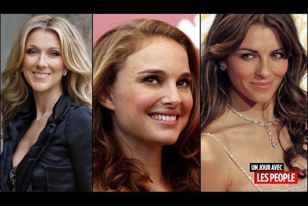 Céline Dion, Natalie Portman, Liz Hurley