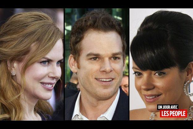 Nicole Kidman, Michael C. Hall et Lily Allen