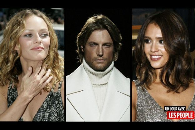 Vanessa Paradis, Gabriel Aubry et Jessica Alba.