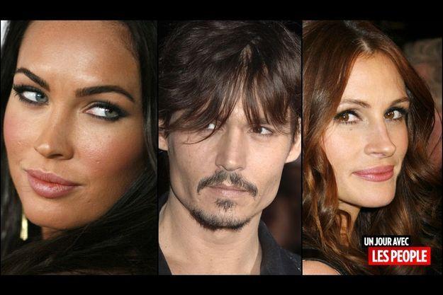 Megan Fox, Johnny Depp, Julia Roberts