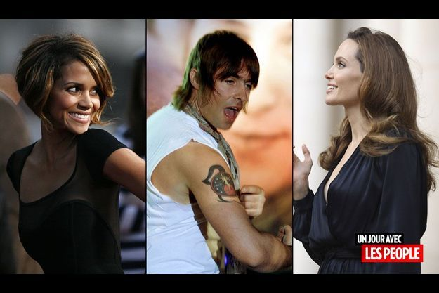 Halle Berry, Liam Gallagher, Angelina Jolie