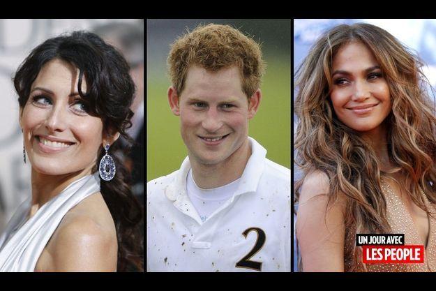 Lisa Edelstein, le prince Harry et Jennifer Lopez.