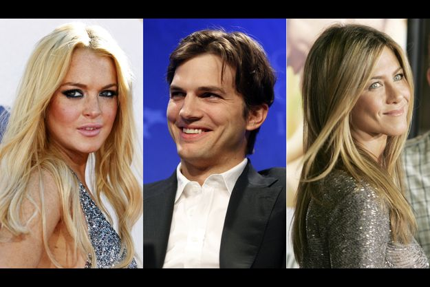 Lindsay Lohan, Ashton Kutcher et Jennifer Aniston