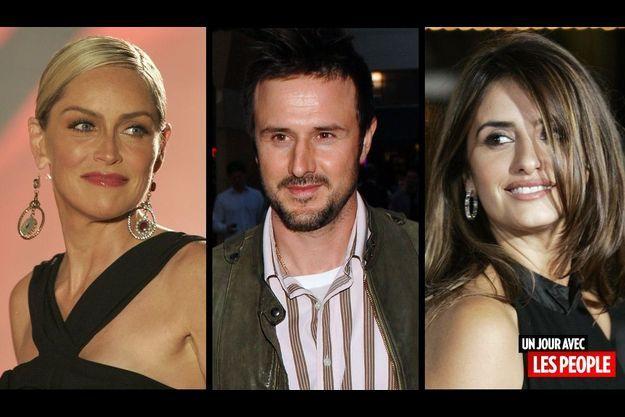 Sharon Stone, David Arquette et Penelope Cruz.