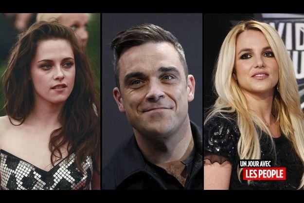 Kristen Stewart, Robbie Williams et Britney Spears