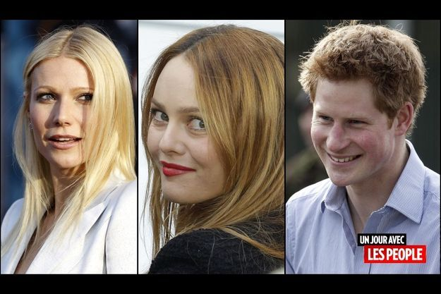 Gwyneth Paltrow, Vanessa Paradis, le prince Harry