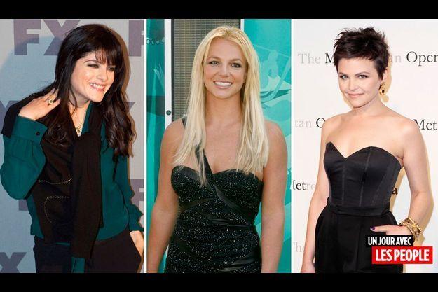 Selma Blair, Britney Spears et Ginnifer Goodwin.