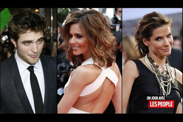 Robert Pattinson, Cheryl Cole, Sandra Bullock