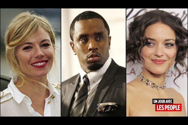 Sienna Miller, Diddy et Marion Cotillard