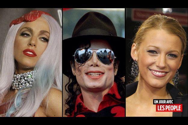 Lady GaGa, Michael Jackson et Blake Lively