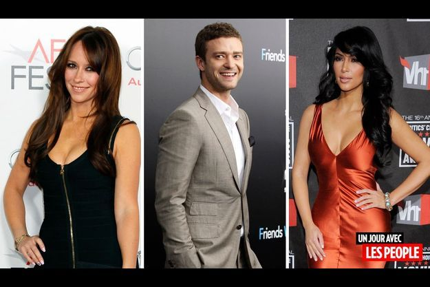 Jennifer Love Hewitt, Justin Timberlake et Kim Kardashian.