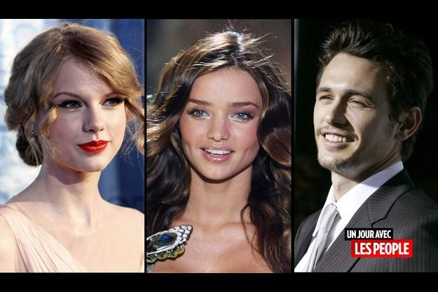 Taylor Swift, Miranda Kerr et James Franco