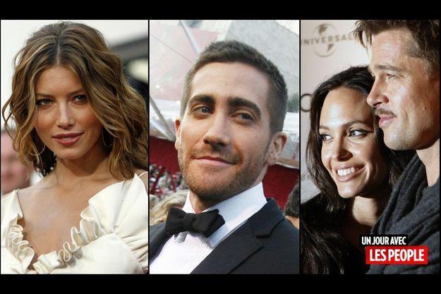 Jessica Biel, Jake Gyllenhaal, Angelina Jolie et Brad Pitt