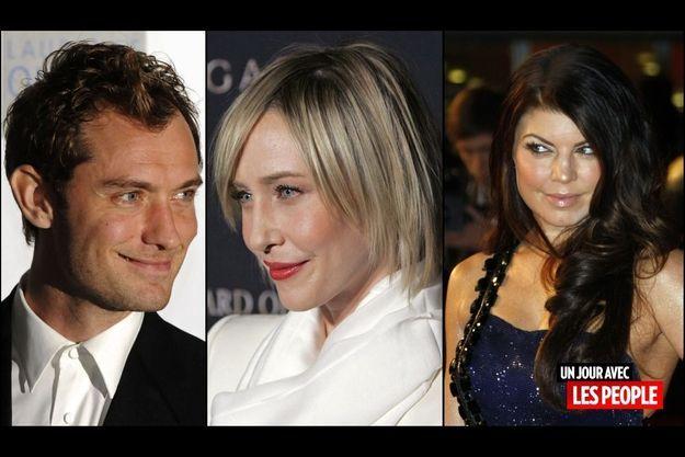 Jude Law, Vera Farmiga et Fergie