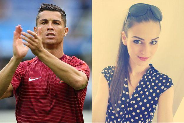 Céline Fisher, l'hôtesse qui a séduit Cristiano Ronaldo