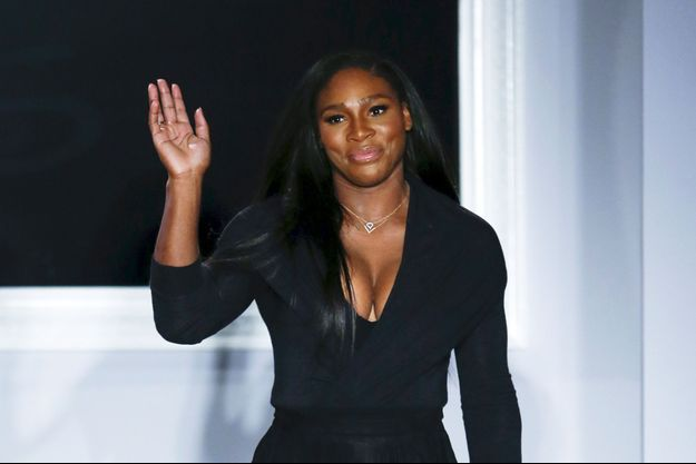 Serena Williams à New York le 15 septembre dernier.