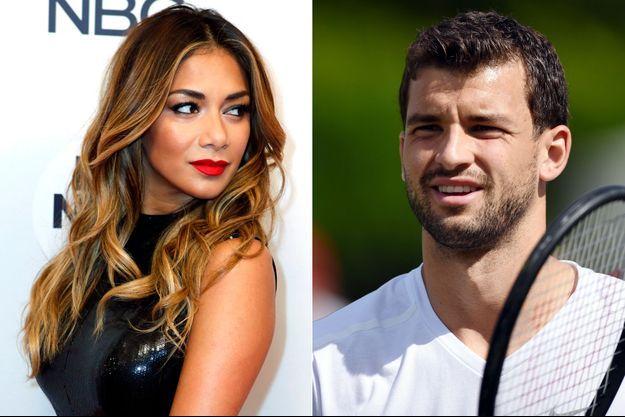 """D'après """"The Sun"""", Grigor Dimitrov et Nicole Scherzinger seraient en couple."""