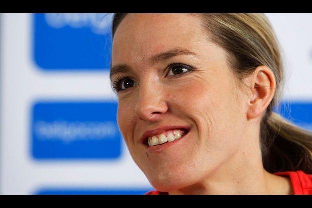 «Je me rends compte que j'ai la chance de donner un peu de bonheur», affirme la Belge.