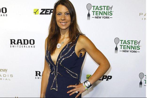 Marion Bartoli, à New York, le 28 août 2015.