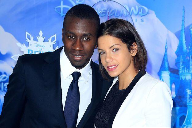 Blaise Matuidi et sa compagne, Isabelle, en novembre 2013