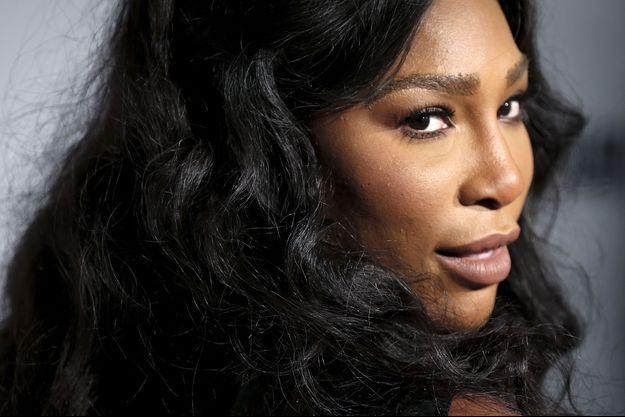 Serena Williams à New York en novembre 2015.