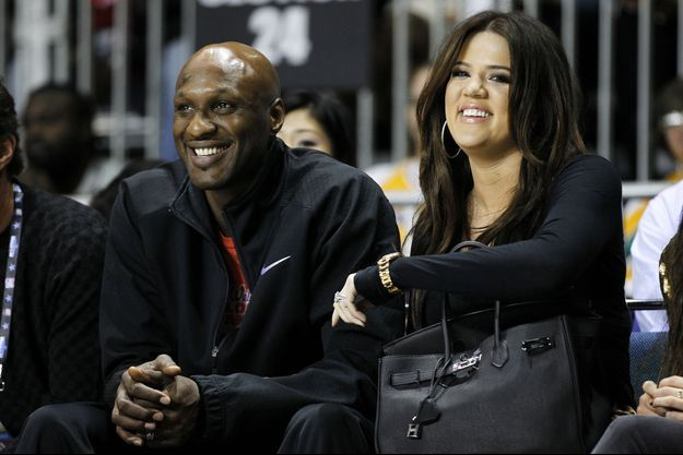 Lamar Odom et Khloé Kardashian, ici en 2011.