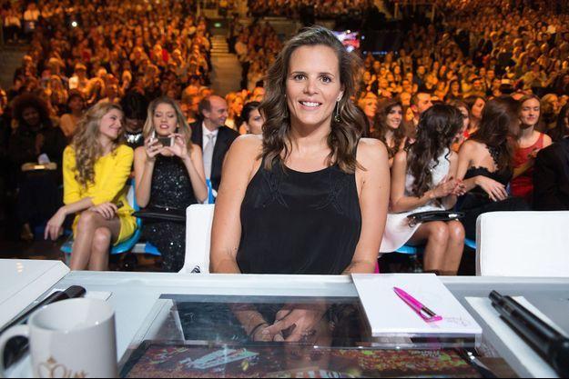 Laure Manaudou faisait partie du jury de l'élection Miss France, le weekend dernier à Orléans.